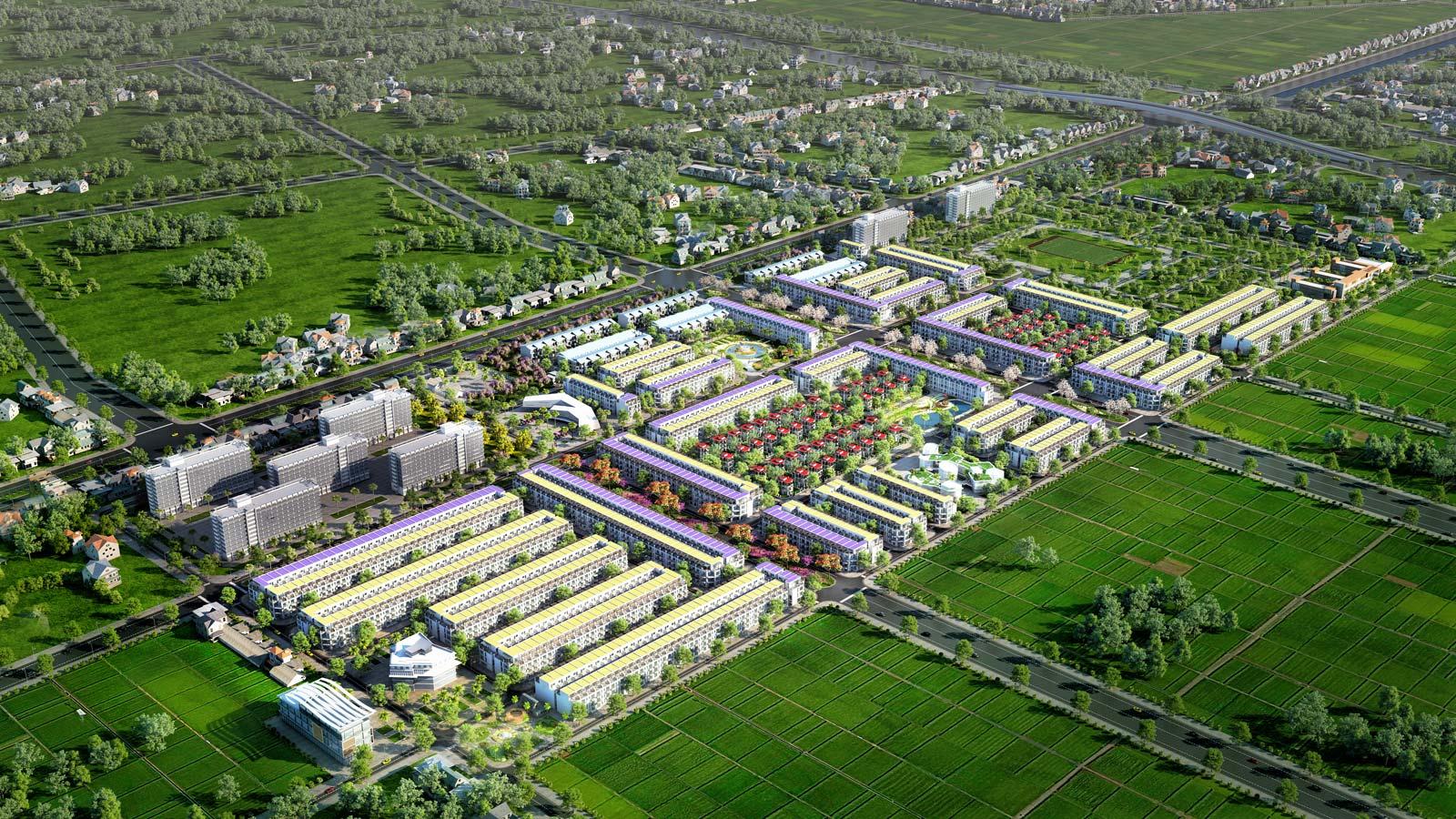 Phối cảnh tổng thể dự án TNR Stars Đồng Văn