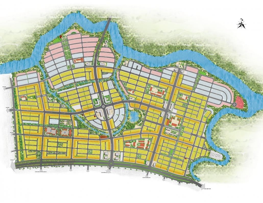 Mặt bằng tổng thể dự án T&T Millennia City Long An