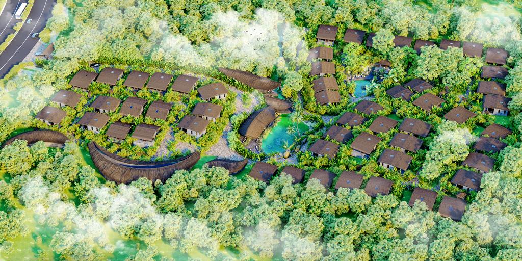 Phối cảnh khu biệt thự Casa Garden Hill Phú Quốc