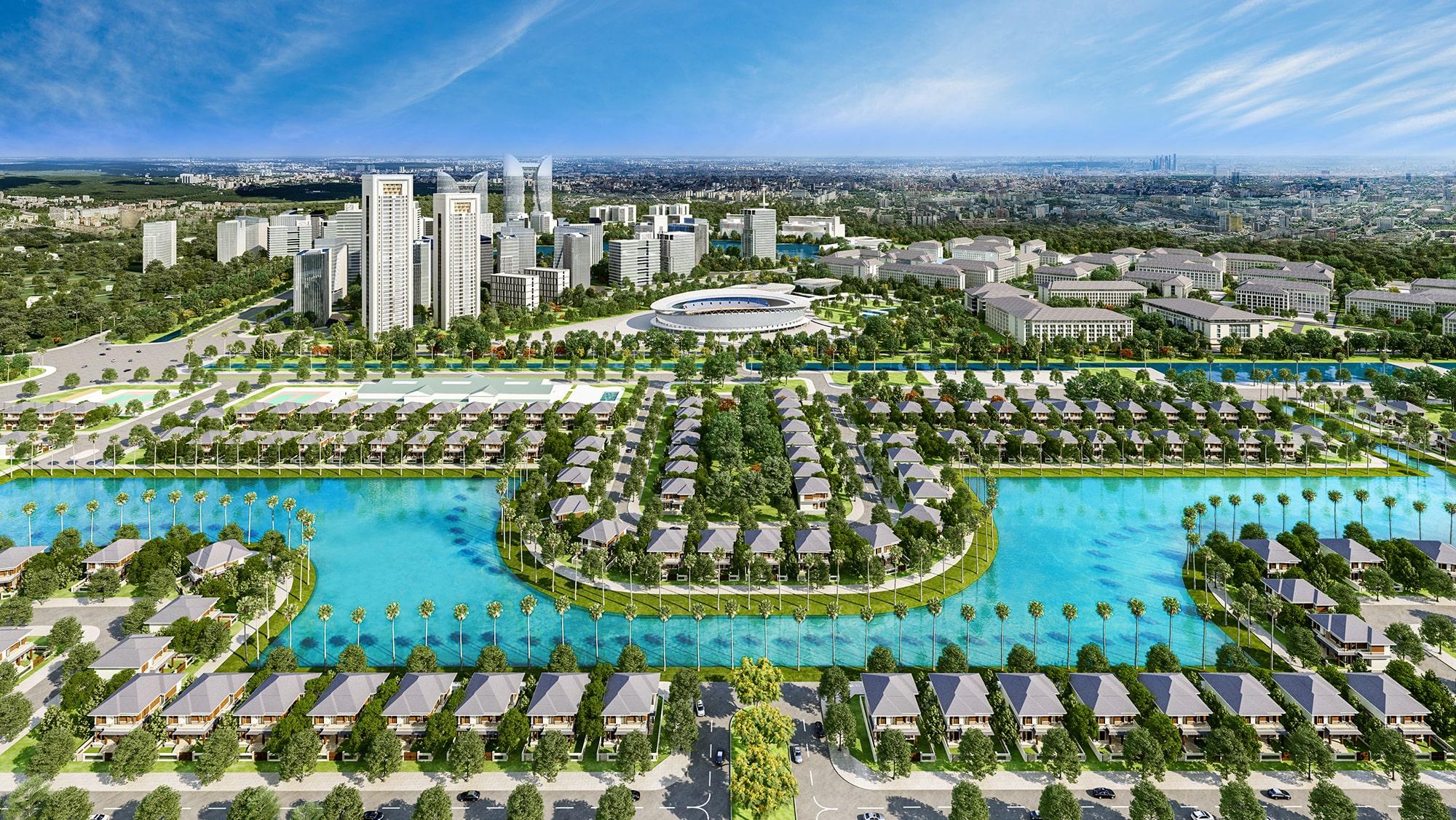 Quy mô dự án Khu đô thị Sao Vàng Long An