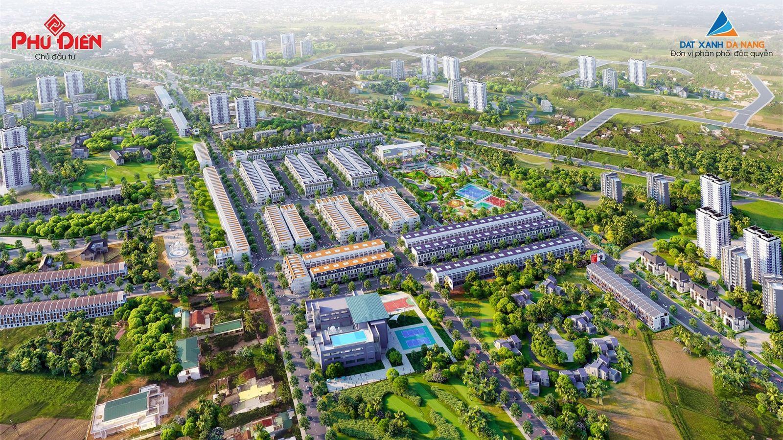 Phối cảnh tổng thể dự án Phú Điền Residences