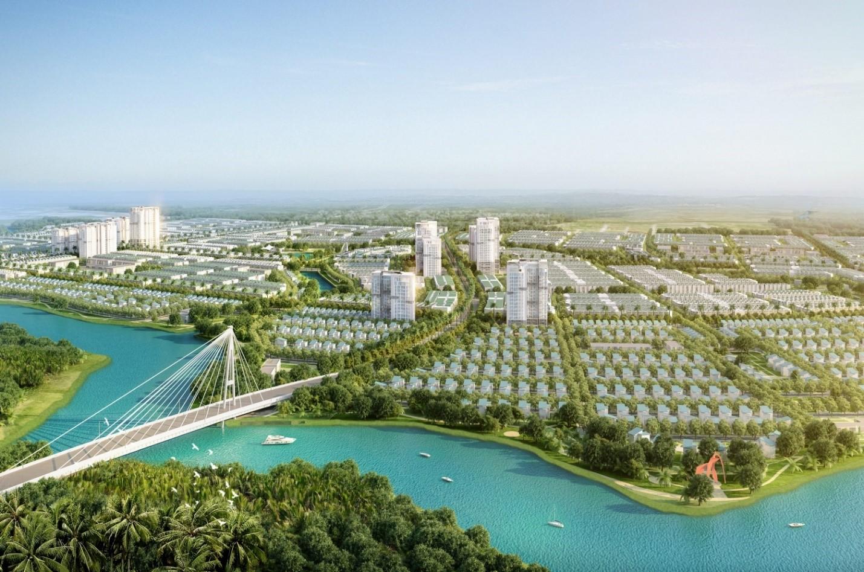 Phối cảnh tổng thể dự án T&T Millennia City Long An