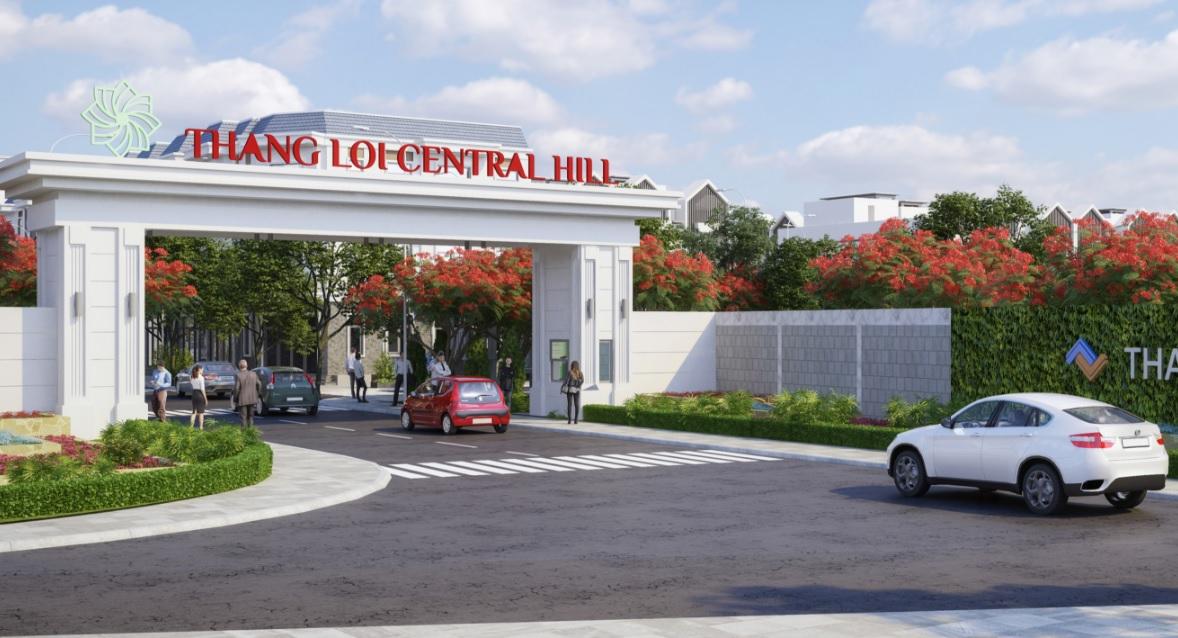 Phối cảnh dự án Thắng Lợi Central Hill Long An