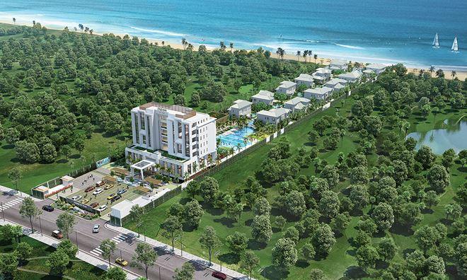 Phối cảnh tổng thể dự án khu nghỉ dưỡng Parami Hồ Tràm