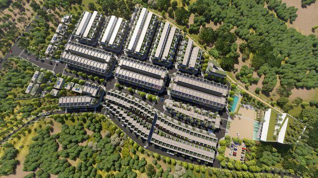 Phối cảnh dự án The Spring Town Hà Nội