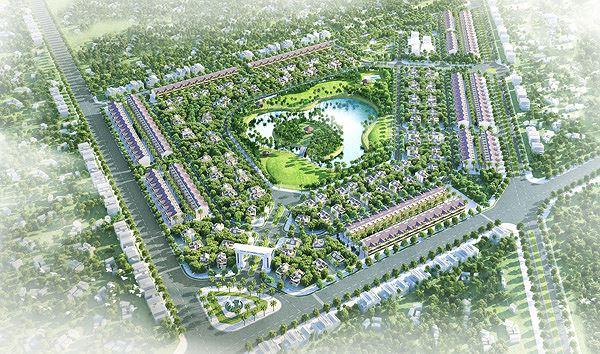Phối cảnh khu đô thị Xuân An Green Park Hà Tĩnh
