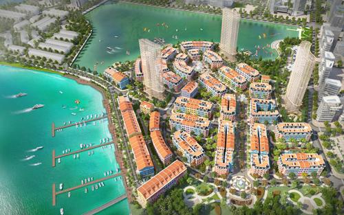 Phối cảnh tổng thể dự án Harbor Bay Ha Long