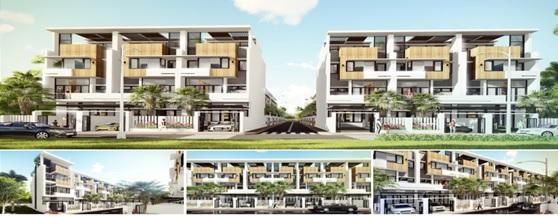 Phối cảnh mẫu nhà điển hình dự án Thiên Phúc Residence