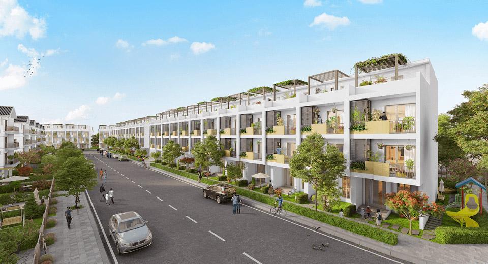 Phối cảnh dự án Tà Bế Gold City Đồng Xoài