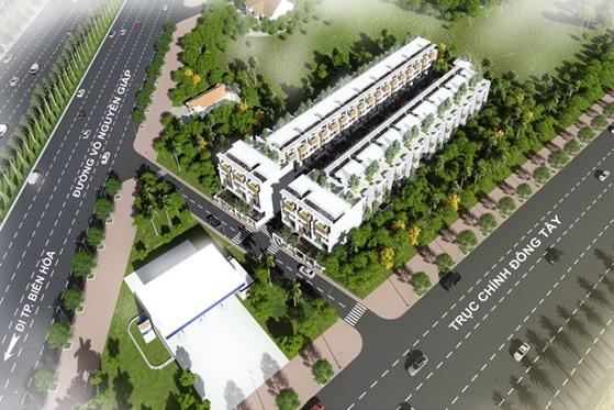 Phối cảnh dự án Thiên Phúc Residence Đồng Nai