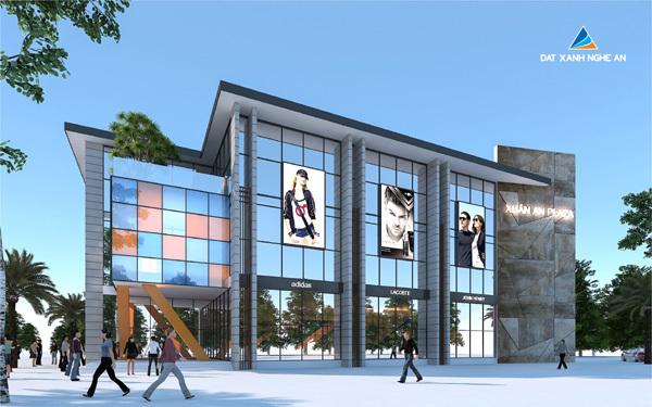 Phối cảnh dự án trung tâm thương mại Xuân An Plaza
