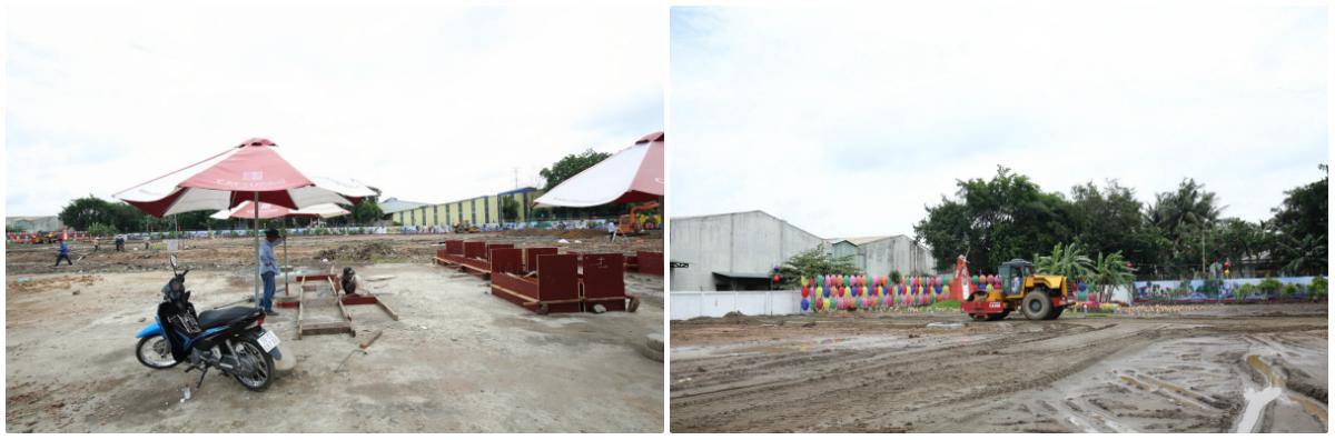 Thực tế thi công block C & D dự án Cát Tường Phú Bình