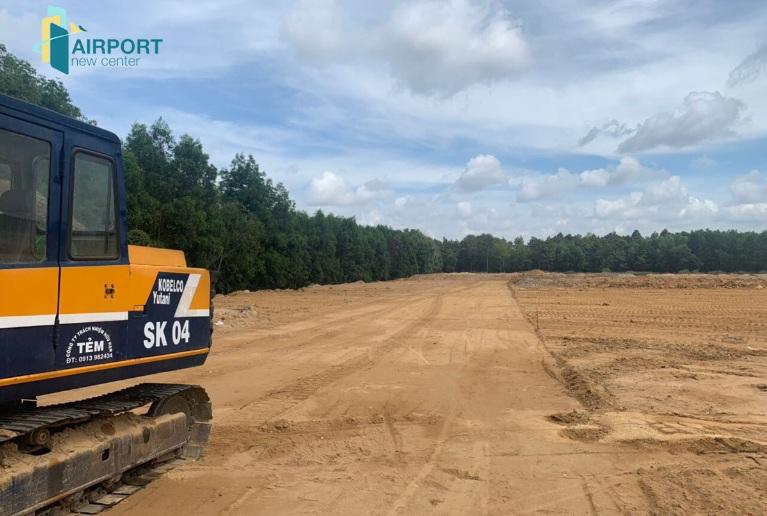Thực tế tiến độ thi công dự án Airport New Center huyện Long Thành