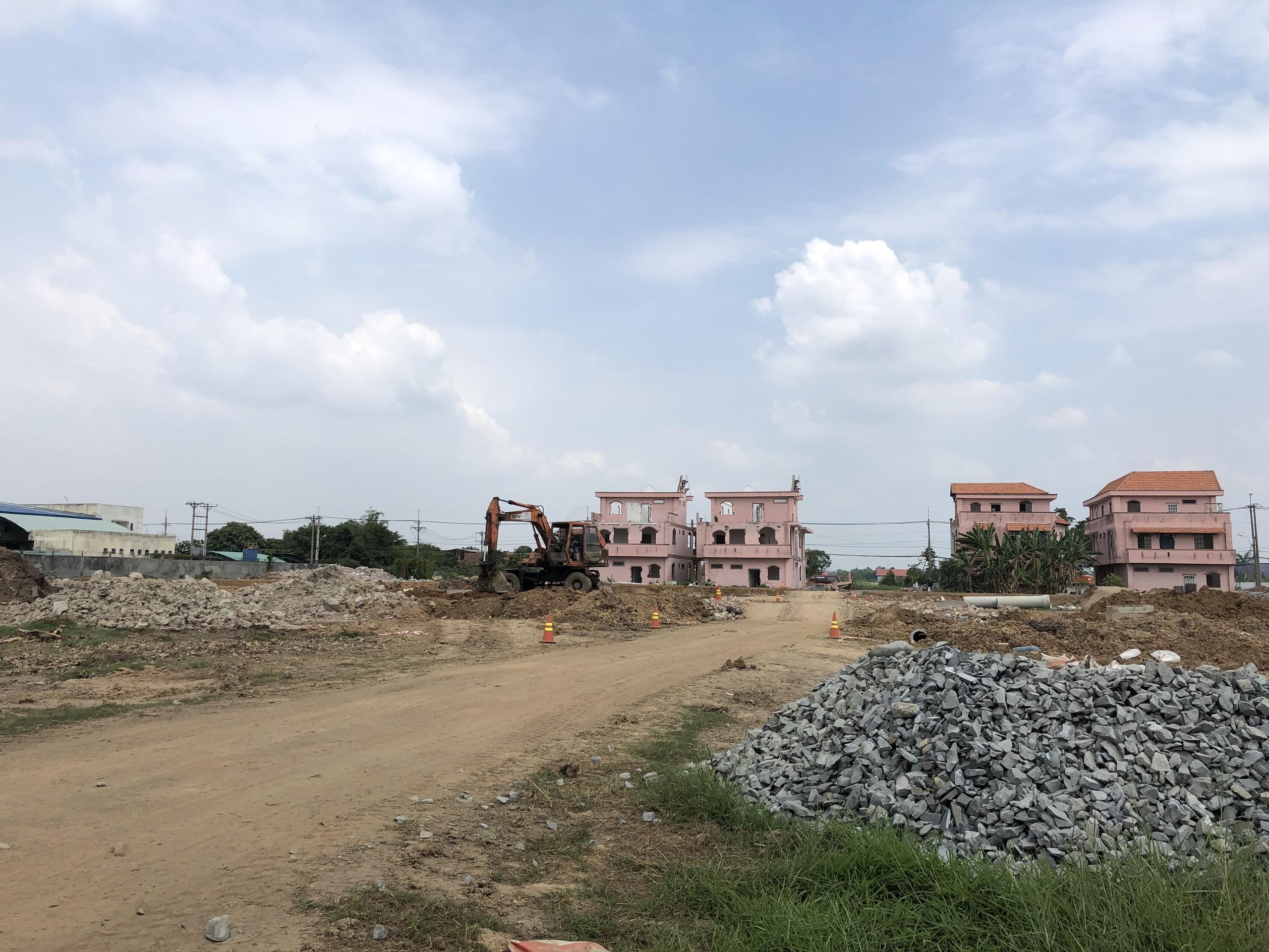 Thực tế hiện trạng khu đất xây dựng khu dân cư The Residence 3 Củ Chi