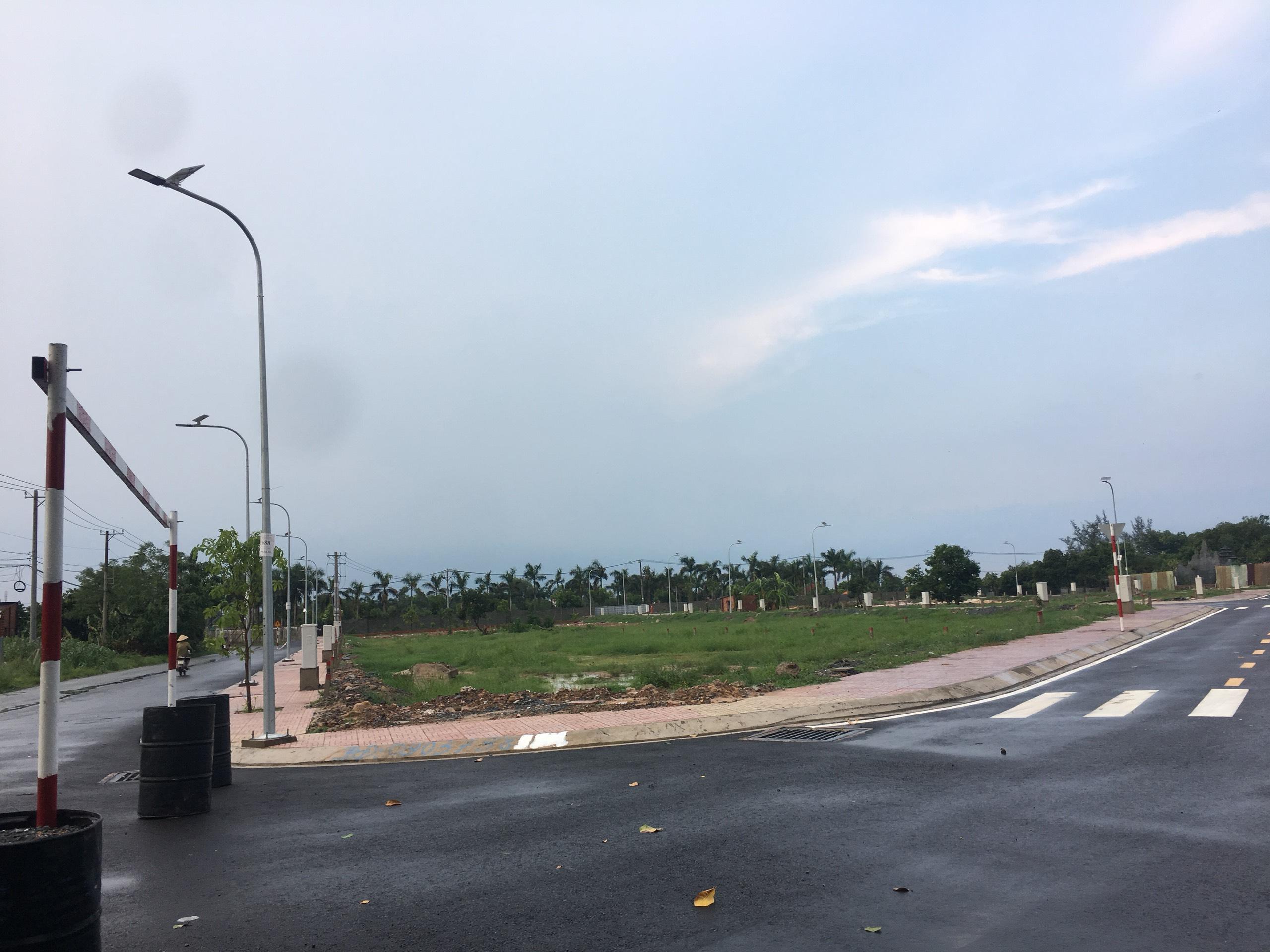 Đường nội bộ trong khu dân cư Tân Phú Trung