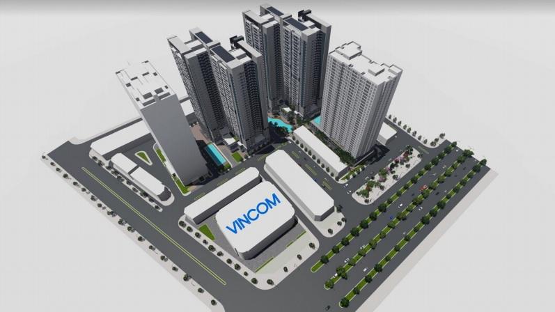 Phối cảnh mô hình khu căn hộ Charm City Bình Dương