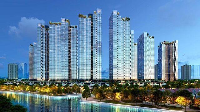 Phối cảnh tổng thể dự án Sunshine City Sài Gòn quận 7