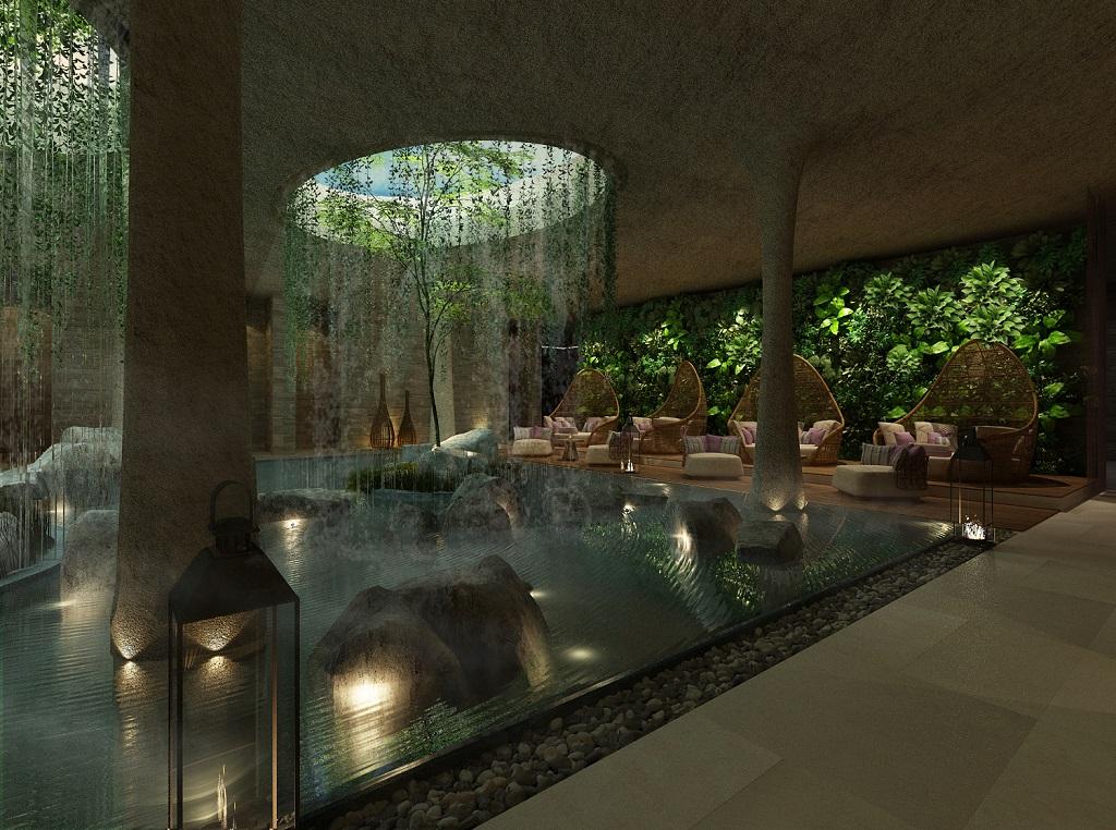 Phối cảnh phòng spa dự án Fusion Resort Quảng Bình