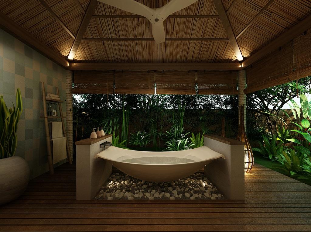 Bồn tắm thiên nhiên của dự án Fusion Resort Quảng Bình