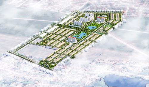 Phối cảnh tổng thể dự án Canary City Thái Nguyên