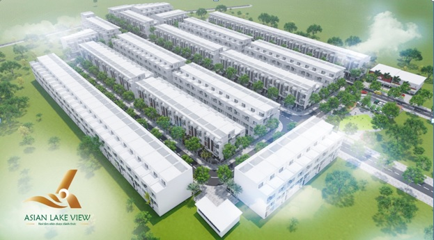 Phối cảnh tổng thể dự án khu dân cư Asian Lake View Bình Phước