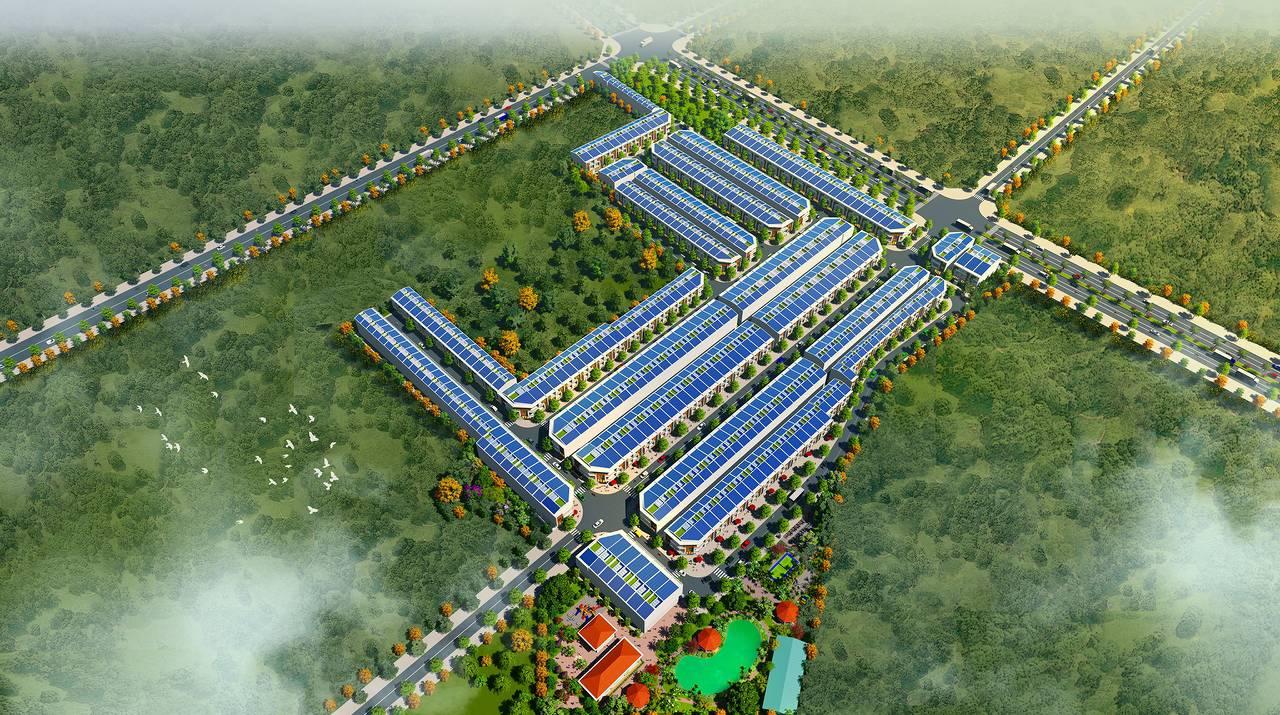 Phối cảnh dự án Tân Phước Khánh Village Bình Dương