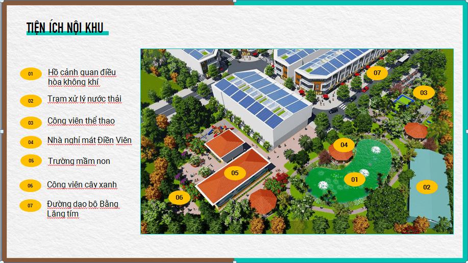 Hệ thống tiện ích nội khu dự án Tân Phước Khánh Village