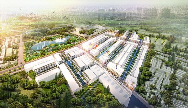 Quy mô dự án đất nền LIC City Phú mỹ