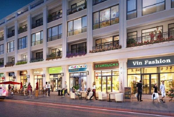 Phối cảnh các căn shophouse dự án Grand World Phú Quốc