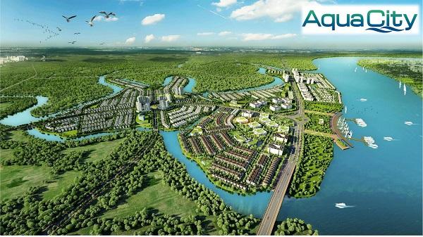 aqua city, phoi canh aqua city, khu do thi sinh thai aqua city