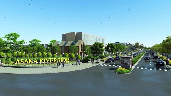 Asaka Riverside, cong chao Asaka Riverside, Asaka Riverside long an