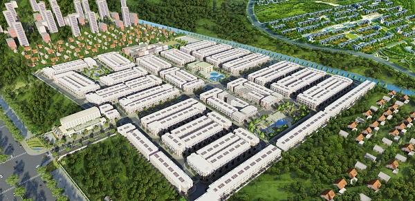 Asaka Riverside, phoi canh Asaka Riverside, Asaka Riverside long an