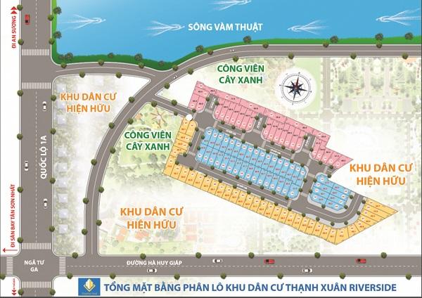 Thanh Xuan Riverside, mat bang Thanh Xuan Riverside, Thanh Xuan Riverside quan 12