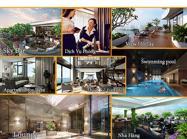 Five Star West Lake, tien ich Five Star West Lake, Five Star West Lake ha noi