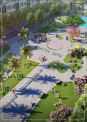 tiện ích tại dự án Khu đô thị Vườn Sen