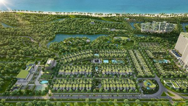 Mặt bằng tổng thể phân khu Premier Village tại dự án khu du lịch nghỉ dưỡng Lagoona