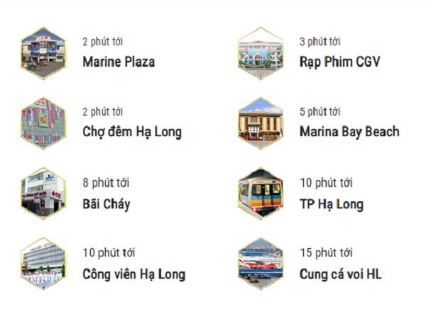 Tiện ích ngoại khu tổ hợp khách sạn Eastin Phát Linh Hạ Long