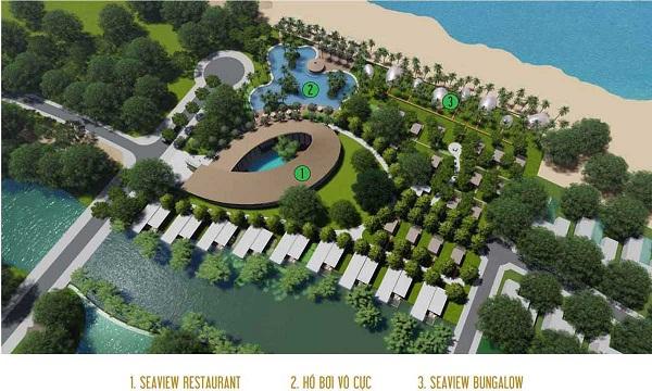 Các tiện ích nội khu tại dự án khu du lịch nghỉ dưỡng Lagoona
