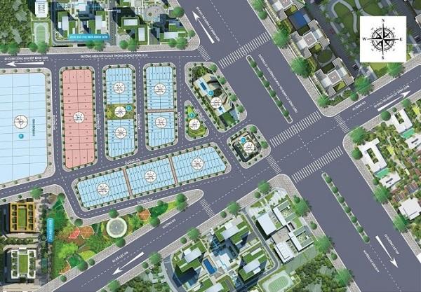 Mặt bằng tổng thể dự án khu dân cư Long Thành Central