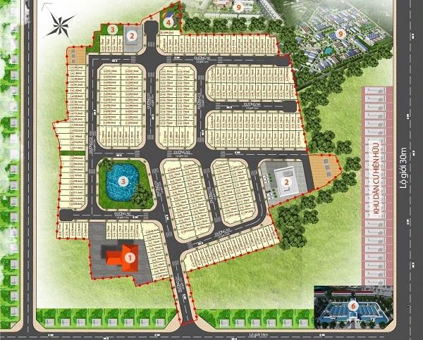 Mặt bằng tổng thể dự án khu dân cư Viettin Eco Land