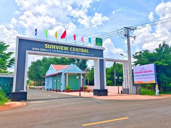 Một số ảnh chụp thực tế tại dự án khu dân cư Sunview Central (Tháng 07/2019)