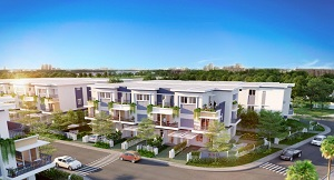 Phối cảnh biệt thự và nhà phố tại dự án Venita Park
