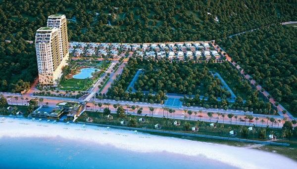 Phối cảnh tổng thể dự án The Long Hai Beach & Mountain Resort Vũng Tàu