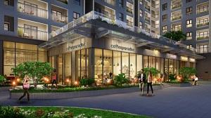 Thiết kế cảnh quan tầng sảnh tại dự án căn hộ Saigon Asiana