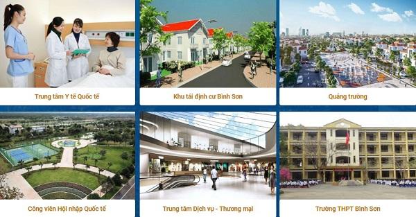 tiện ích nội khu dự án khu dân cư Long Thành Central Đồng Nai