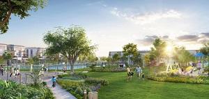 Khuôn viên dự án biệt thự Venita Park Quận 9