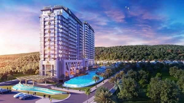 Toà Căn hộ du lịch khách sạn dự án The Long Hai Beach & Mountain Resort Vũng Tàu