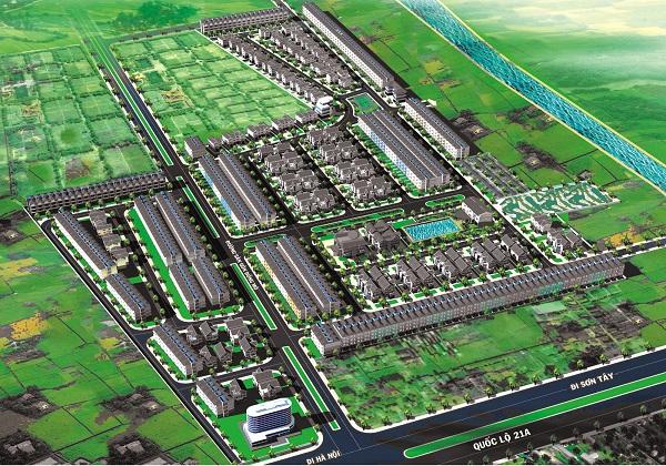 Khu đô thị Thiên Mã Hà Nội