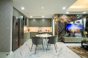 Phối cảnh căn hộ mẫu tại dự án Sunshine Diamond River