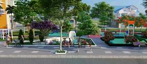 Phối cảnh công viên nội khu tại dự án khu dân cư Long Thành Phát Residence